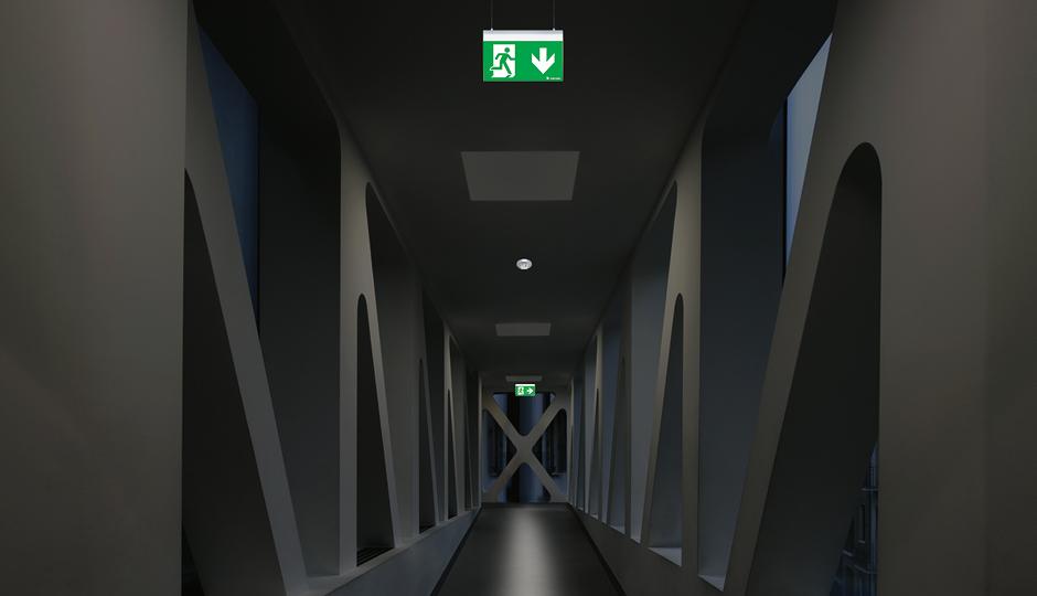 Adeguata illuminazione - efficace prevenzione degli infortuni sul lavoro.